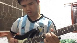 ນ້ອງບໍ່ແມ່ນນາງຟ້າ Guitar solo by Leng GT