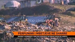 Përpunimi i mbetjeve në Sharrë  - Top Channel Albania - News - Lajme