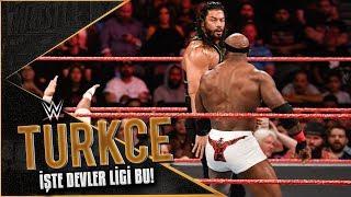 RAW Türkçe Çeviri | DEVLER KARŞI KARŞIYA! İMPARATOR Roman Reigns ile PATRON Lashley Karşı Karşıya!