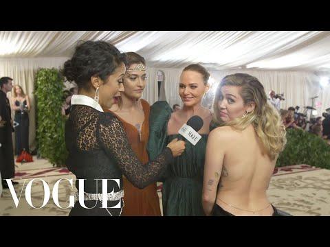Xxx Mp4 Miley Cyrus Paris Jackson Amp Stella McCartney On Sustainable Fashion Met Gala 2018 With Liza Koshy 3gp Sex