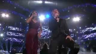 Jessica and Phillip performs Up Where We Belong - American Idol Finale .mp4.flv