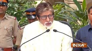Amitabh Bachchan Addresses Media on 74th Birthday, Speaks on Ban on Pakistani Artists