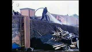 Grossbrand Holzwerk in Lauterbach (Hessen) 1996