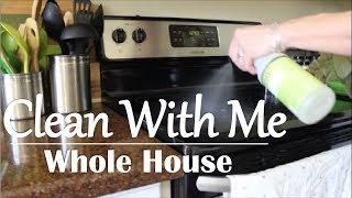 CLEAN WITH ME | WHOLE HOUSE | ALL DAY | AFTER HOLIDAYS | SAHM