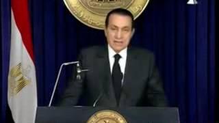 خطاب الرئيس مبارك . الذى ابكى الملايين