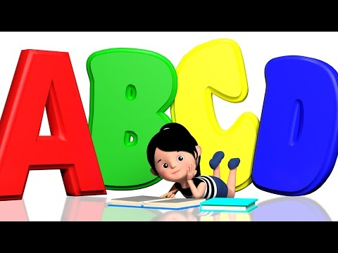 ABCD Song For Children   Alphabets Song For Children   3D Nursery Rhymes