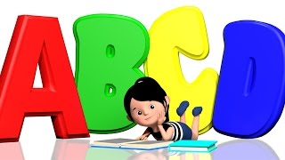ABCD Song For Children | Alphabets Song For Children | 3D Nursery Rhymes