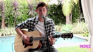 Shawn Mendes  The Weight Exclusive Perez Hilton Acoustic