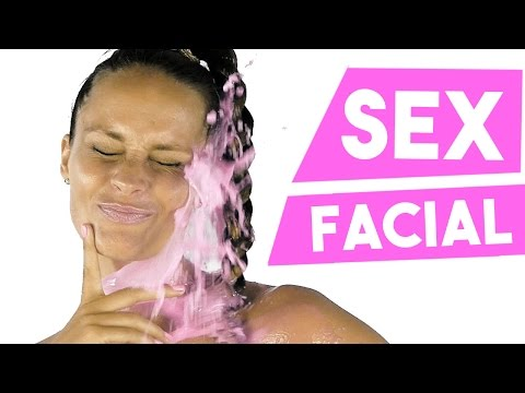 SEMEN FACIALS ▽ My Craziest Beauty Secret Ever! ▽