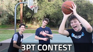 3PT BASKETBALL CONTEST! ft JESSER!