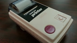 Classic Game Room - GAME BOY PRINTER review