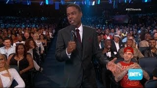 Chris Rock Packs a Comedic Punch at BET Awards