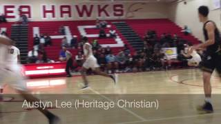Birmingham vs. Heritage Christian basketball (1-7-17)