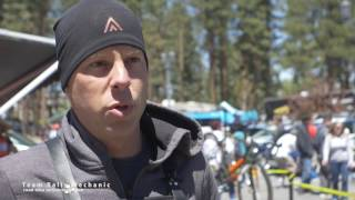Team Rally Cycling Mechanic Interview at Tour of California