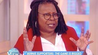 Whoopi Goldberg Scolds Bernie Sanders Supporters