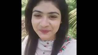 Mouri Zaman was live for her fans 2016