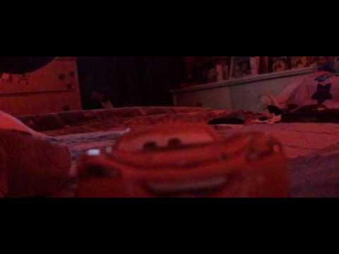 Stop motion Cars 3 crash scene Reupload