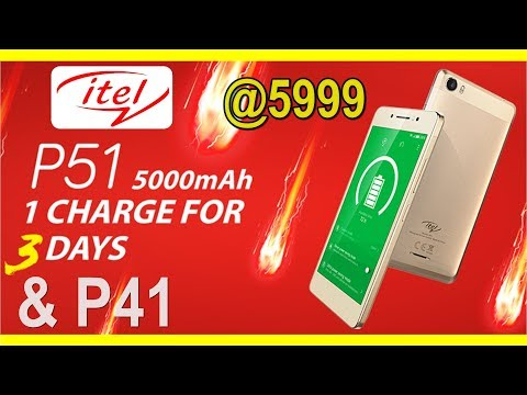 Xxx Mp4 ITEL P51 P41 With 5000 MAh Battery At Rs 5999 Launched In India 3gp Sex