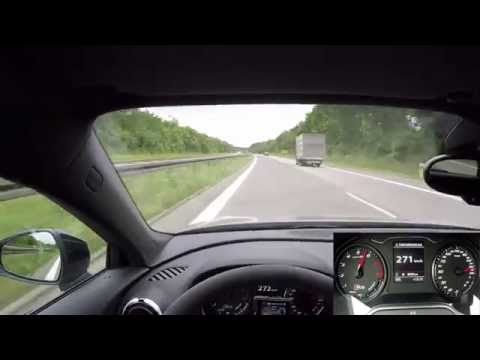 2015 Audi RS3 Top speed acceleration Autobahn & Sound
