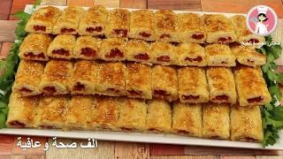 فطائر صباحية تركية لذيذة وسريعة فطائر السجق بمذاق مميز تستحق التجربة مع رباح محمد ( الحلقة 576 )