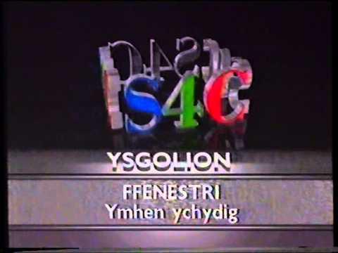 S4C Ysgolion Schools junction into Ffenestri 1989