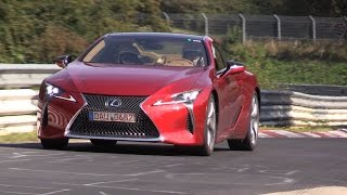 2018 Lexus LC500 - Exhaust Sounds on the Nurburgring!