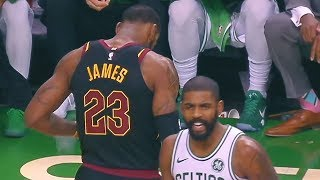 Kyrie Irving SHUTS UP LEBRON JAMES AND PROVES HIM WRONG!!!
