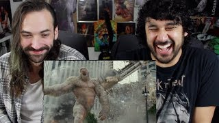 RAMPAGE - OFFICIAL TRAILER 1 REACTION & REVIEW!!!