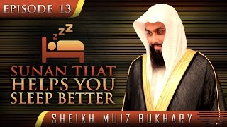 Sunan That Helps You Sleep Better ᴴᴰ ┇ #SunnahRevival ┇ by Sheikh Muiz Bukhary ┇ TDR Production ┇
