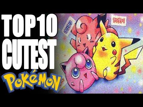 Top 10 Cutest Pokémon