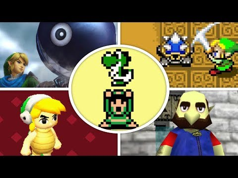 All Mario References and Cameos in Zelda Games 1986 2018