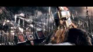 Lord Dain Saga - Hobbit 2014 clip HQ - Dwarf Power