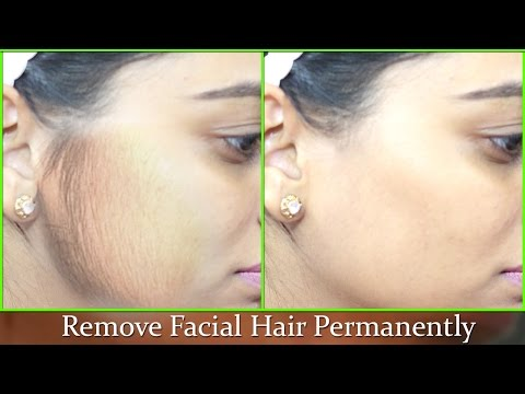 Remove Facial Hair Instantly - 100% Natural effective Remedy/ Get Smooth Soft Fair Face at Home