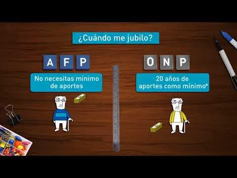 ¡Aprende la diferencia entre una AFP y una ONP!