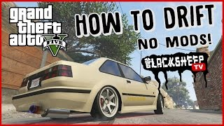 GTA 5 - How To Drift For Beginners - Best Tutorial - NO MODS