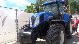 NEW HOLLAND T6080  tractor 2018