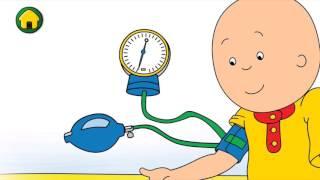 Caillou: Caillou Chez le Docteur - Visite Médicale App (Caillou jeu - version longue! en HD)