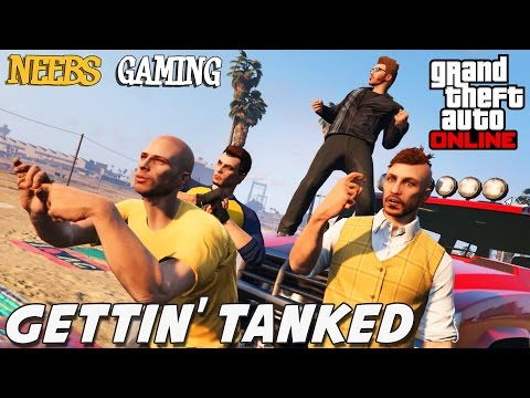 GTA 5 Online - Gettin' Tanked - Episode #6