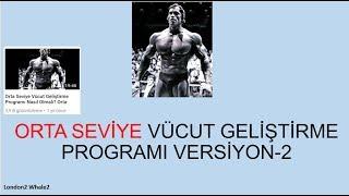 Orta Seviye Vücut Geliştirme Programı Alternatif-2