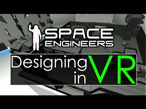 Space Engineers - VR Blueprint Design?! - 3dSunshine: First Look at SE Support