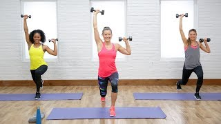 45-Minute Workout With Weights to Boost Your Metabolism