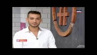 Peter Kai -Interview On MTV Lebanon Hashtag