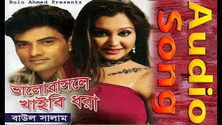 ভালোবাসলে খাইবি ধরা || Bhalo Bashle Khaibi Dhora || Baul Salam || CD Zone || Music Video
