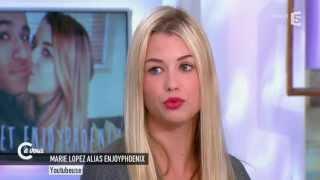 EnjoyPhoenix alias Marie Lopez : l'interview - C à vous - 01/06/2015