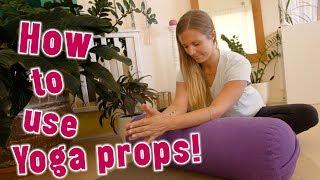 How To Use Yoga Props!|Yoga Girl|Rachel Brathen