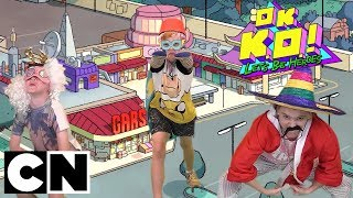 OK K.O. Superhero Challenge (feat. Unicorn Squad & Get Rekt) | Cartoon Network