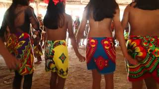 Embera Healing Dance for Tim's Hand -- Not quite PG