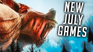 Top 10 NEW Games Of July 2018