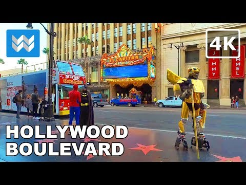 Xxx Mp4 Walking Around Hollywood Boulevard In Los Angeles California 【4K】 3gp Sex