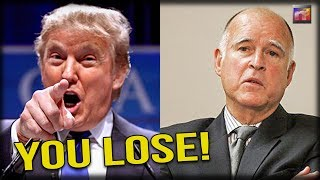 Cali Governor Suffers HORRID Public Melt Down After Trump and Sessions Lay Down the Law